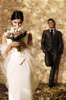 Hochzeitspiel Zeitungstanz